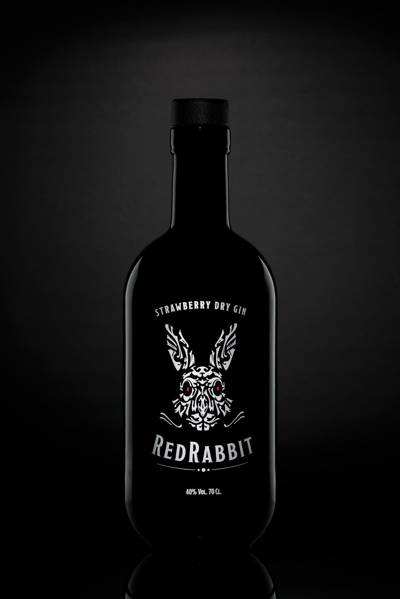 Red Rabbit ginebra con fresa